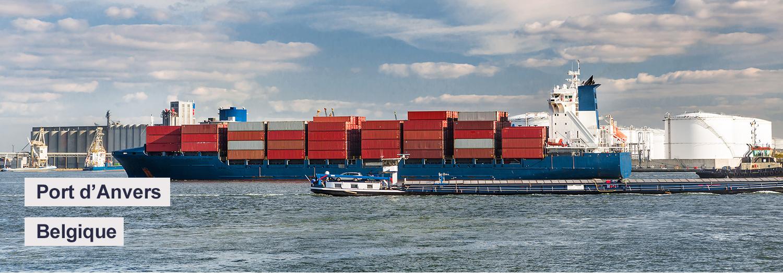 Port d'Anvers - Belgique