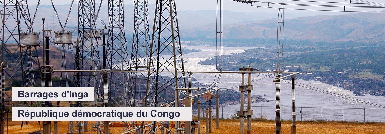 Barrage d'Inga - République démocratique du Congo