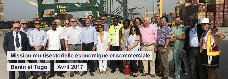 Mission économique Bénin et Togo