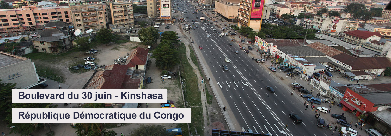 Boulevard du 30 juin - Kinshasa